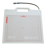 Компактный цифровой детектор с ручкой Agfa DX-D 25C